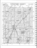 Pipestone County Highway Map, Pipestone County 1999